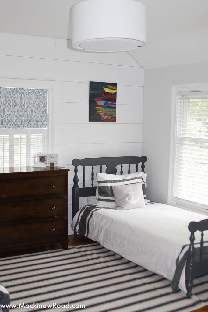 Travel Inspired Shared Bedroom Mackinaw Road